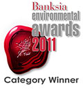 Banksia Environmental Awards winner
